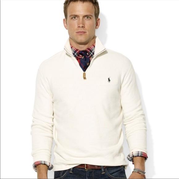 5f6262ed3bc65c Polo by Ralph Lauren Shirts | Polo Ralph Lauren Half Zip Mock Neck ...